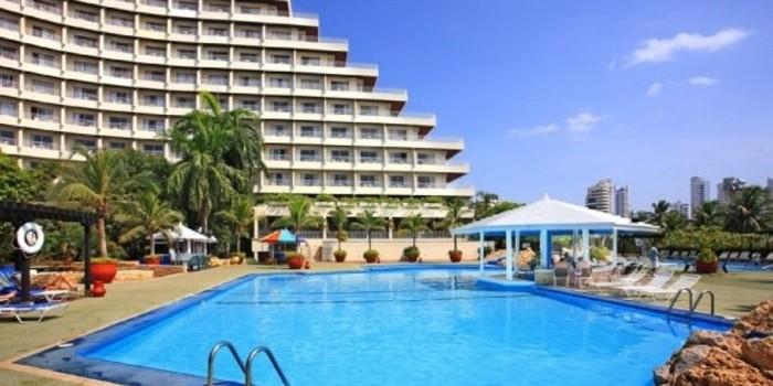 Uff hotel cartagena hilton informaci n general for Piscina brion